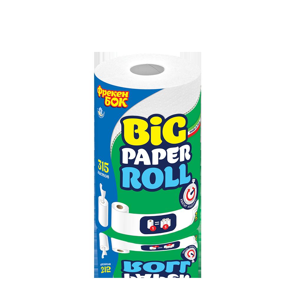 Фрекен БОК Кухонні паперові рушники, двошарові, 315 арк.- Фото - Biosphere