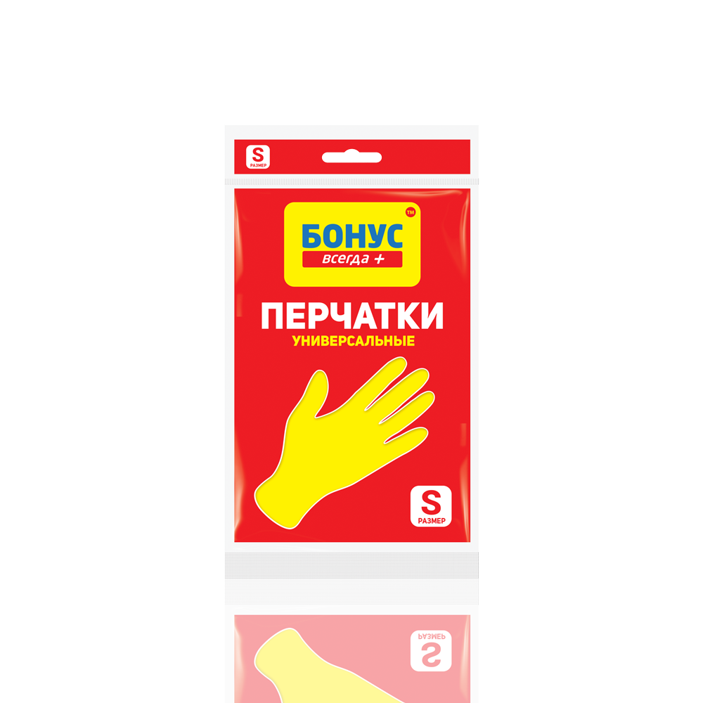 БОНУС Перчатки резиновые, S- Фото 3 - Biosphere