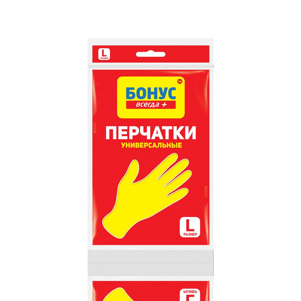 БОНУС Перчатки резиновые, L- Фото 1 - Biosphere