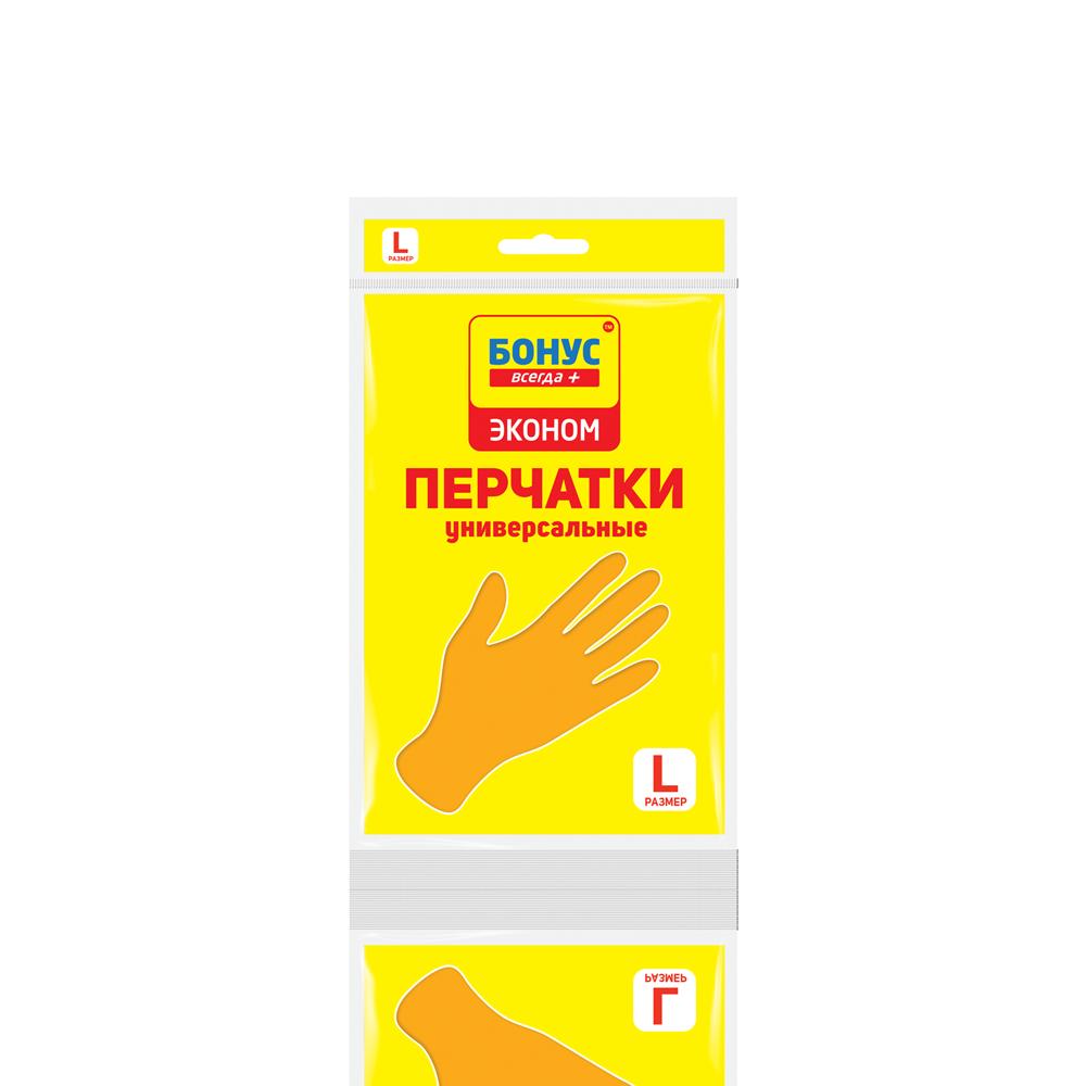 """БОНУС Рукавички гумові """"Економ"""", L- Фото - Biosphere"""