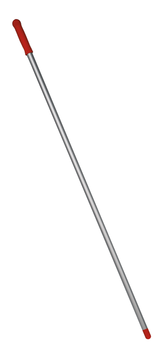 Алюмінієва рукоятка червона, 130м (різьба)- Фото - Biosphere