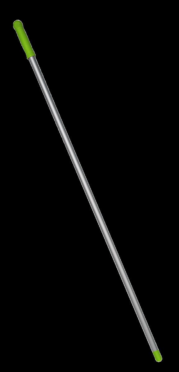 Алюмінієва рукоятка зелена, 130м (різьба)- Фото - Biosphere