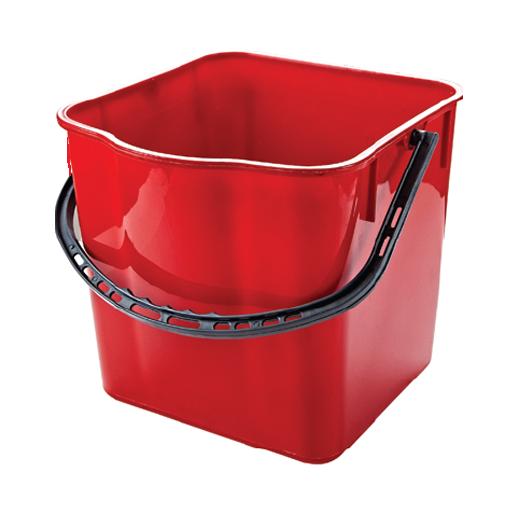 Відро запасне червоне, 25л для візка CK750-T (SK797-R)- Фото - Biosphere