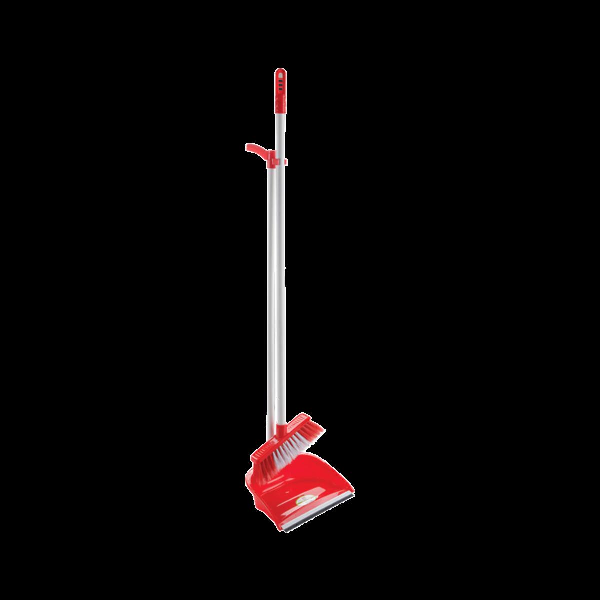 Комплект для приб. совок+щітка, червоний (AF201)- Фото - Biosphere