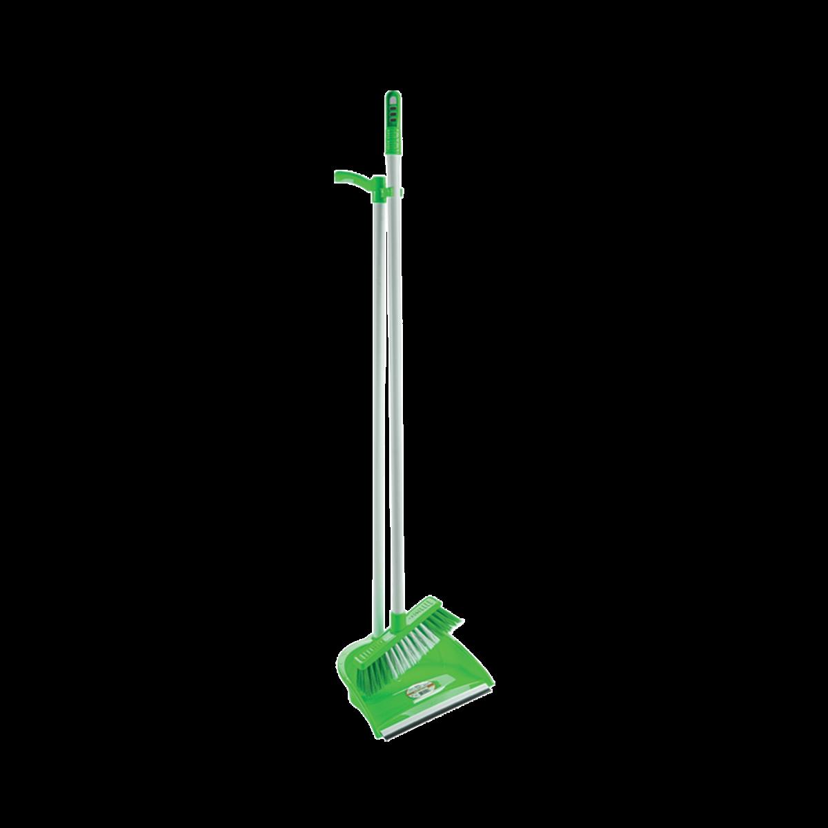 Комплект для приб. совок+щітка, зелений (AF201)- Фото - Biosphere