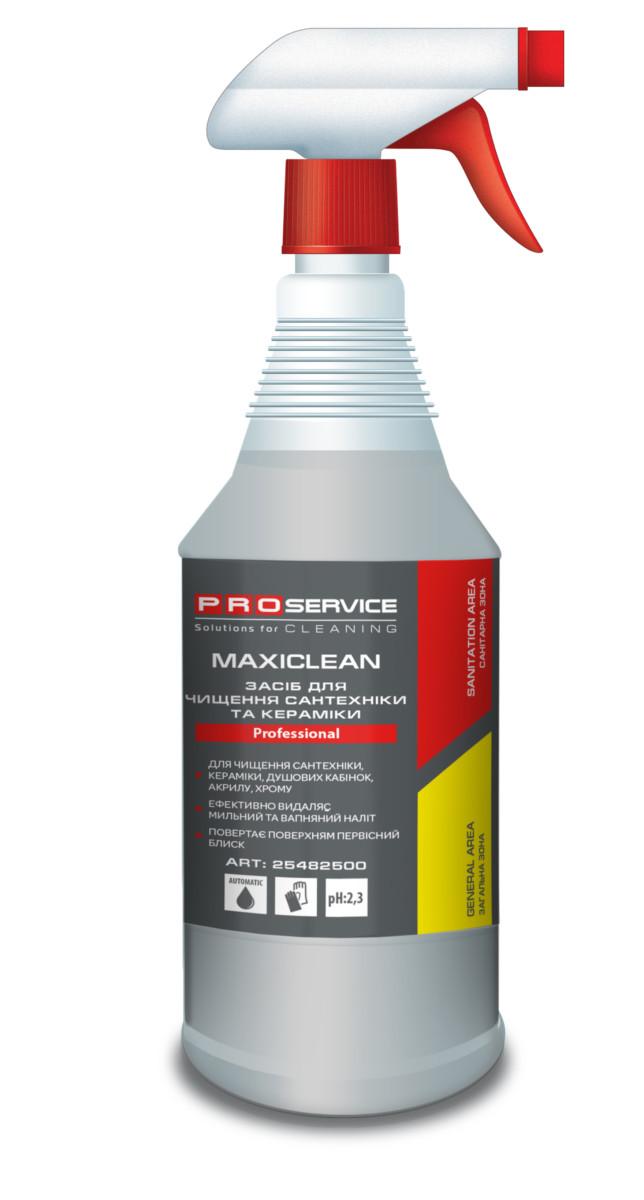 Засіб для ванної кімнати PRO service Maxiclean, 1л- Фото - Biosphere