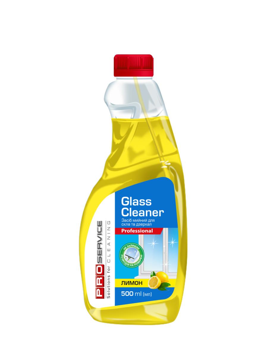 """Засіб для миття скла PRO service """"Лимон"""" запаска, 0,5л- Фото - Biosphere"""