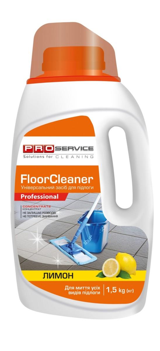 Засіб для миття підлоги PRO service Floor cleaner, 1,5л- Фото - Biosphere