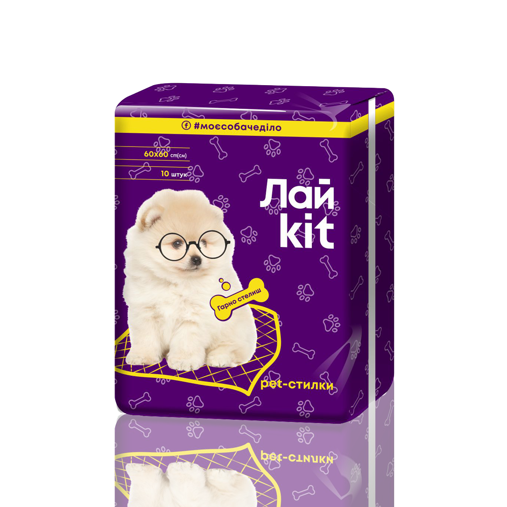 Лайkit Dog Pads, 10 pcs.- Фото 5 - Biosphere
