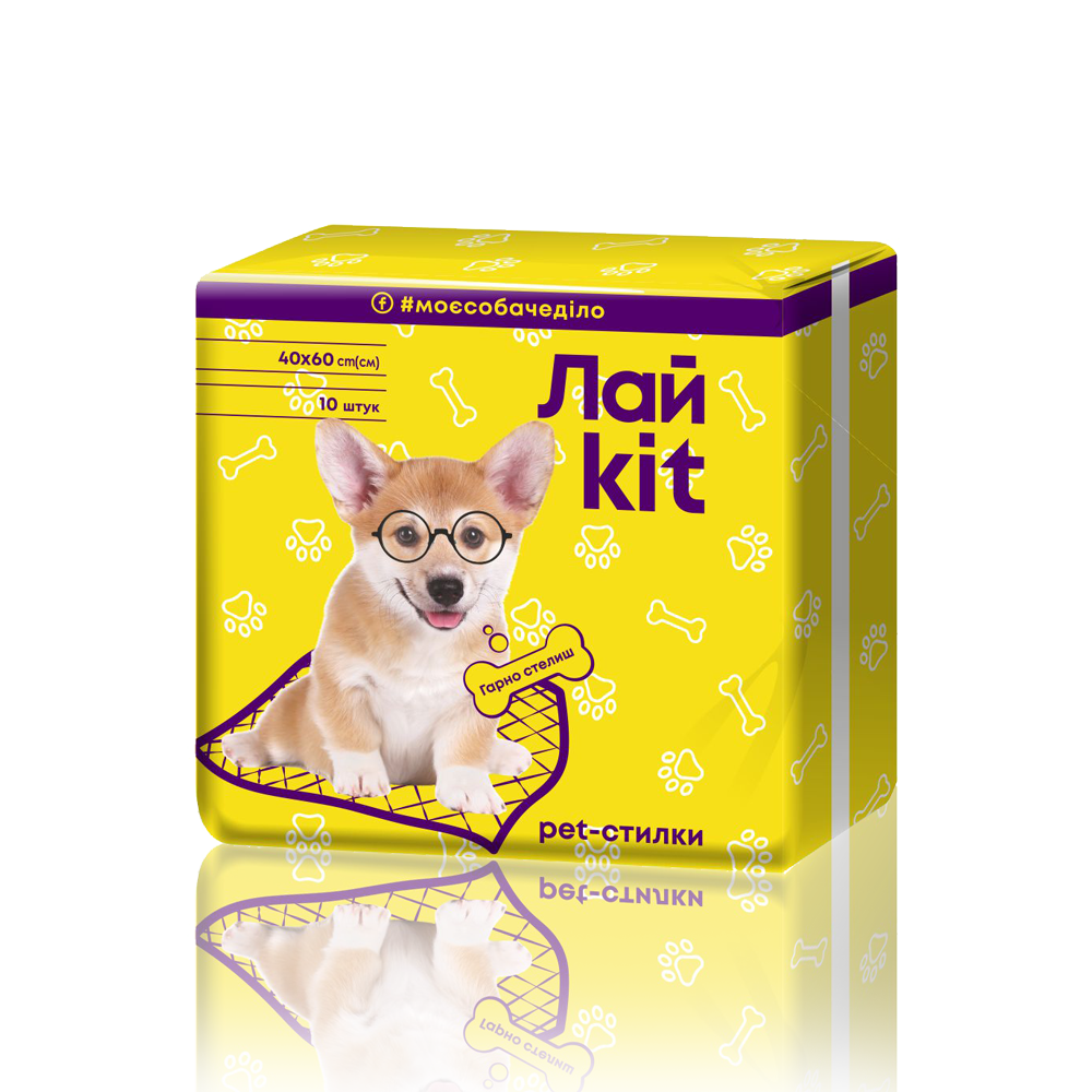 Лайkit Dog Pads, 10 pcs.- Фото 3 - Biosphere