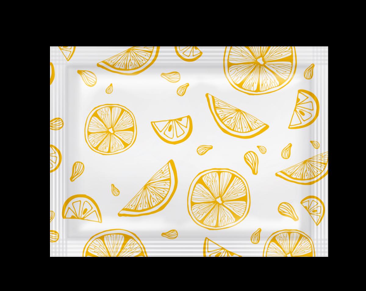 """Серветки вологі PRO service для рук та обличчя """"Лимон"""" в боксі- Фото - Biosphere"""