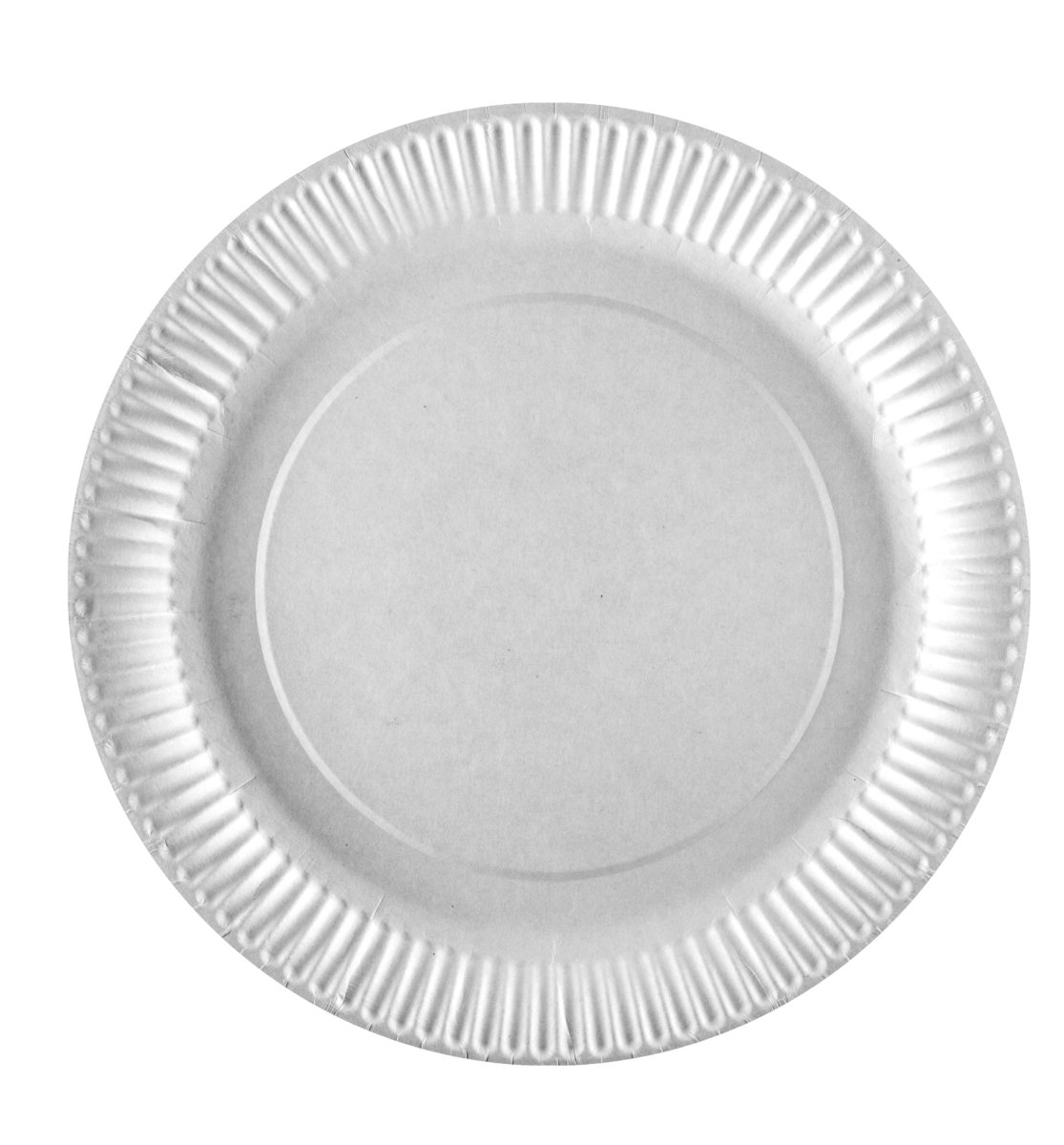 Тарілка паперова PRO serivce кругла біла, 18см- Фото - Biosphere