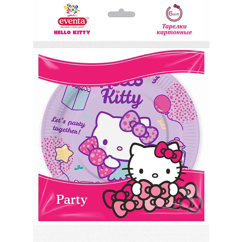 """Тарілки ліцензовані """"Hello Kitty""""- Фото - Biosphere"""
