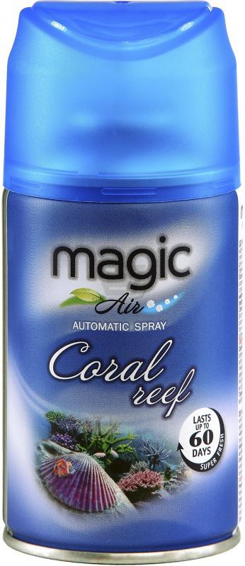 """Освіжувач повітря """"Magic Air"""" Кораловий риф автомат, 250мл- Фото - Biosphere"""