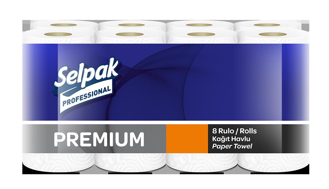 Рушник паперовий Selpak Prof. Premium 3 шари, 11,25м- Фото - Biosphere