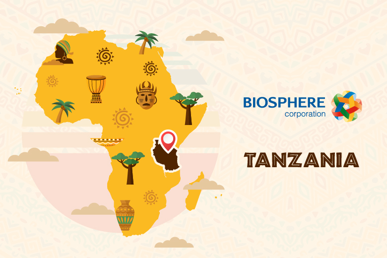 One more country on Biosphere Corporation's export map - Biosphere
