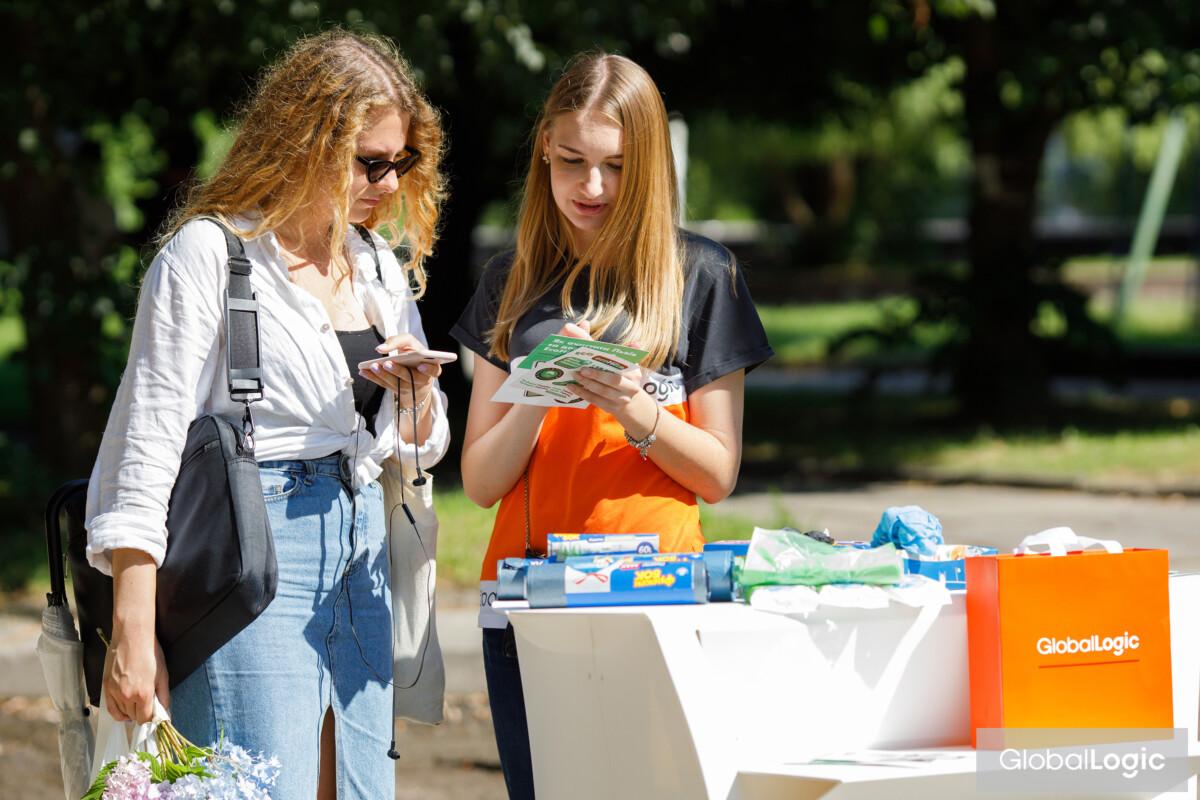 """""""Біосфера"""" стала партнером проєкту EcoHike від GlobalLogic Ukraine та прийняла учать у прибиранні лісопарку у Львові - Biosphere"""